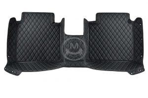 Manicci Luxury Car Floor Mats black with black 5