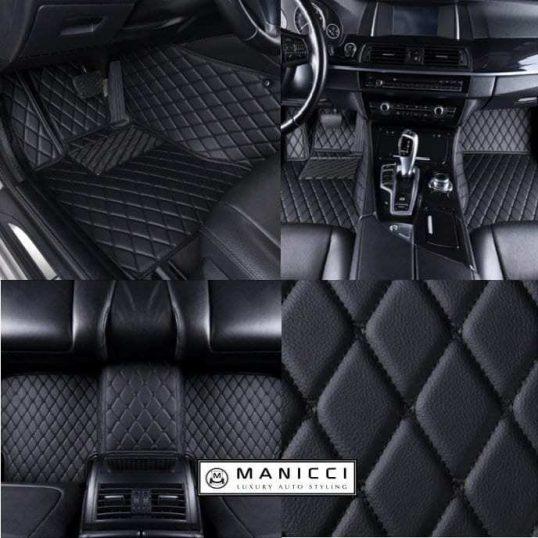2009 Passenger /& Rear Floor 2011 Honda CR-V Black Loop Driver 2010 2008 GGBAILEY D4548A-S2B-BK-LP Custom Fit Car Mats for 2007
