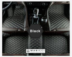 Luxury Custom Fitted Car Mats Black