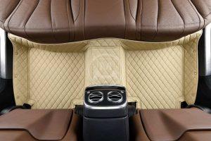 Manicci Luxury Car Floor Mats Beige 2