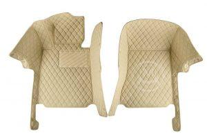 Manicci Luxury Car Floor Mats Beige 6