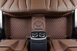 Manicci Luxury Car Floor Mats Dark Brown 2
