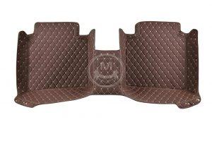 Manicci Luxury Car Floor Mats Dark Brown 3