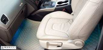 beige luxury car mats 2