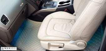 beige luxury car mats 2