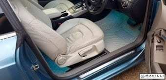 beige luxury car mats 3
