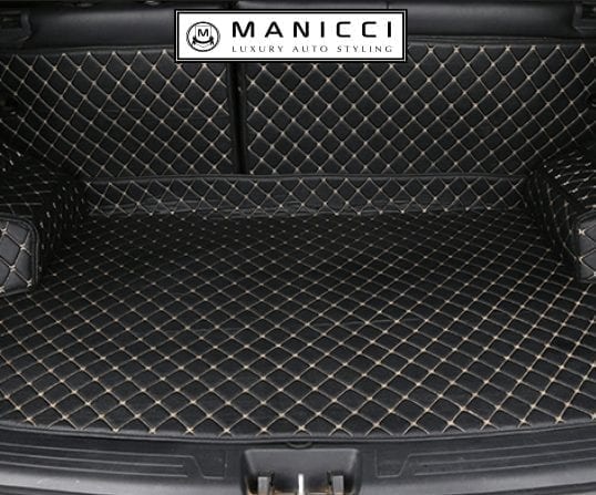 Manicci Luxury Custom Fitted Boot Liner Mats – Multiple Color & Stitching Options (USD)