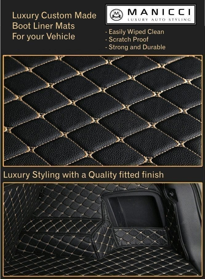 Luxury Custom Made Fitted Car Boot Liner Mats By Manicci