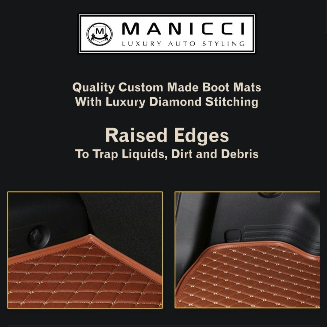 Luxury Custom Fitted Boot Liner Base Mats
