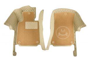Manicci Luxury Car Floor Mats Premium Beige 2