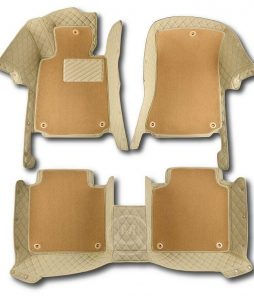 Manicci Luxury Car Floor Mats Premium Beige 7