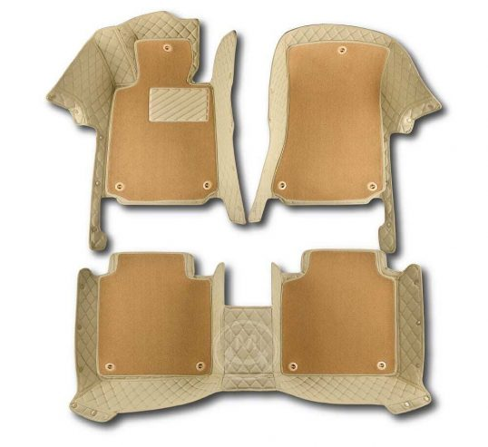Manicci Luxury Car Floor Mats Premium Beige 7