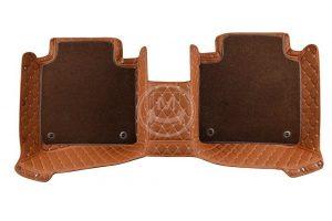 Manicci Luxury Car Floor Mats Premium Brown 3 (1)