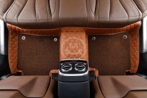 Manicci Luxury Car Floor Mats Premium Brown 6