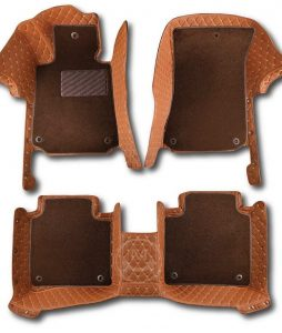 Manicci Luxury Car Floor Mats Premium Brown 7