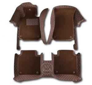 Manicci Luxury Car Floor Mats Premium Dark Brown 2 (2)