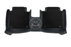 Premium Manicci Luxury Car Floor Mats black with black 6