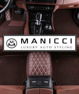 LUXURY CUSTOM FITTED CAR MATS Dark Brown Premium 2.0