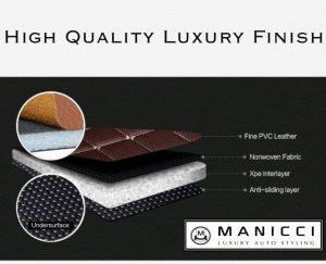 Luxury Leather Car Mats Demo