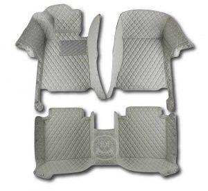Manicci Luxury Car Floor Mats Grey 1