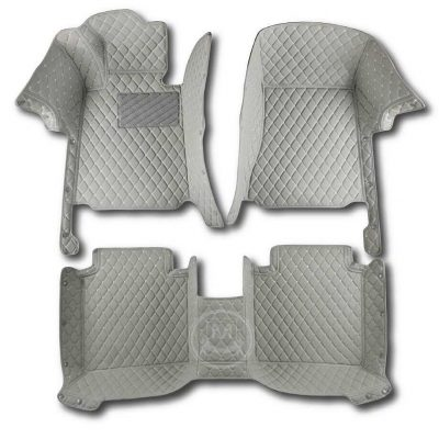 Manicci Luxury Car Floor Mats Grey 1