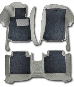 Manicci Luxury Car Floor Mats Premium Grey 1