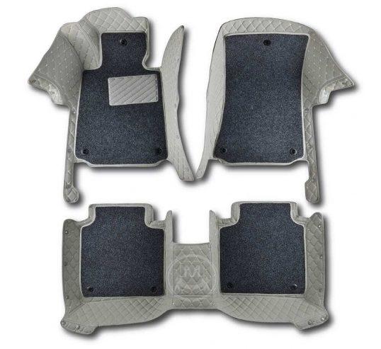 Manicci Luxury Car Floor Mats Premium Grey 1