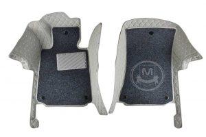 Manicci Luxury Car Floor Mats Premium Grey 3