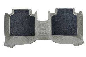 Manicci Luxury Car Floor Mats Premium Grey 4