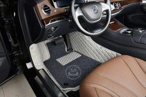 Manicci Luxury Car Floor Mats Premium Grey 5