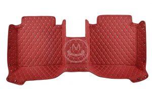 Manicci Luxury Car Floor Mats Red 6