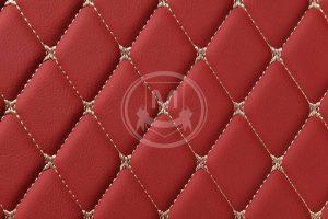 Manicci Luxury Car Floor Mats Red 7