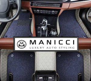 manicci luxury leather custom fitted car floor mats