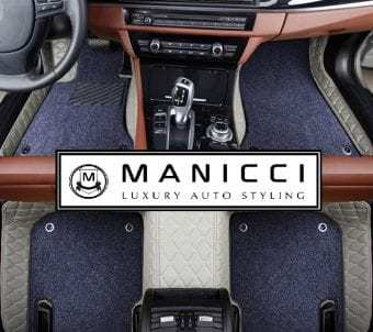 manicci luxury leather custom fitted car floor mats