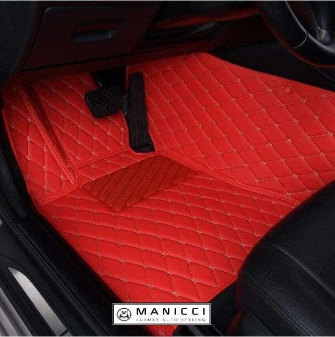 Manicci Luxury Custom Ed Car Mats
