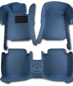 Manicci Luxury Car Floor Mats Blue 1