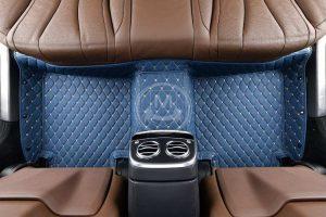 Manicci Luxury Car Floor Mats Blue 2