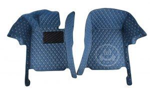 Manicci Luxury Car Floor Mats Blue 6