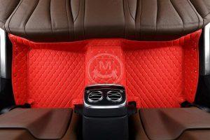 Manicci Luxury Car Floor Mats Racing Red 2