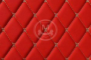 Manicci Luxury Car Floor Mats Racing Red 7