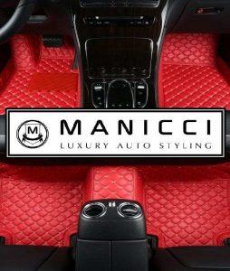 Racing Red Manicci Luxury Car Mats