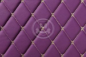 Manicci Luxury Car Floor Mats Purple 7