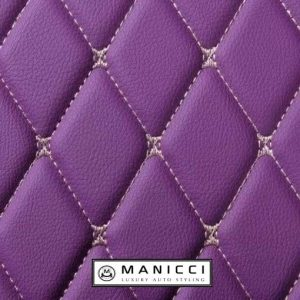 Purple Manicci Luxury Car Mats