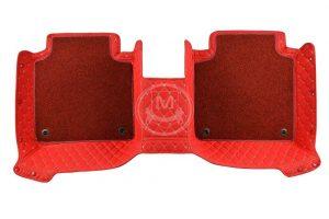 Manicci Luxury Car Floor Mats Premium Racing Red 4