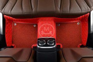 Manicci Luxury Car Floor Mats Premium Racing Red 7