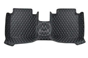 Manicci Luxury Car Floor Mats Black with white diamond 5