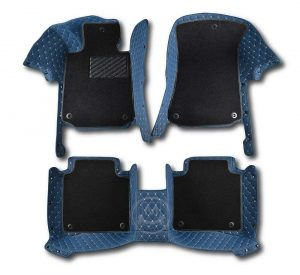 Manicci Luxury Car Floor Mats Premium Blue 1