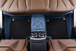Manicci Luxury Car Floor Mats Premium Blue 2