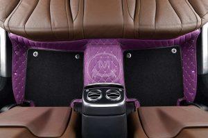 Manicci Luxury Car Floor Mats Premium Purple 1