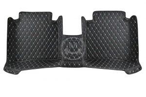 Manicci Luxury Car Floor Mats black with beige 5